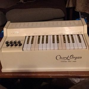 Chord Organ by Etsey, Works great! From early 60's